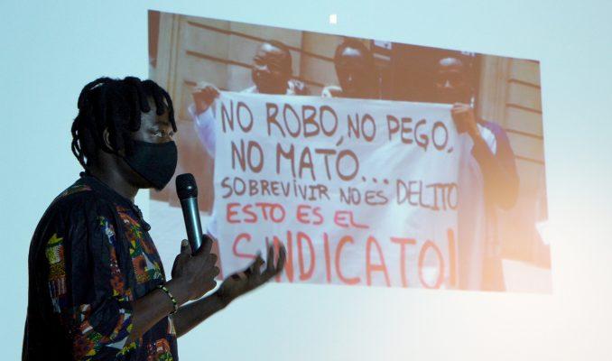 Conferència Sindicat de Manters i la marca Top Manta